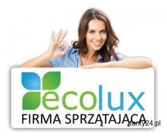 EcoLux firma sprzątająca | sprzątanie Warszawa