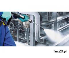 sprzątaniu zakładów produkcyjnych zakładów